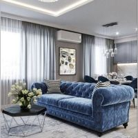 18 Spectacular White And Blue Living Room Ideas For Modern Home 21