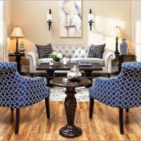 18 Spectacular White And Blue Living Room Ideas For Modern Home 22