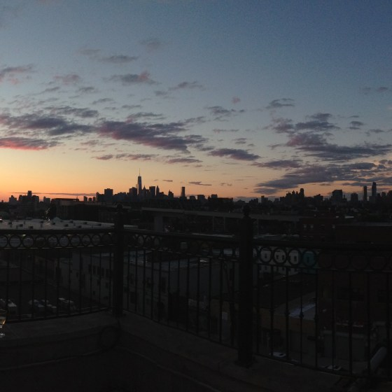 Brooklyn Office Sunset