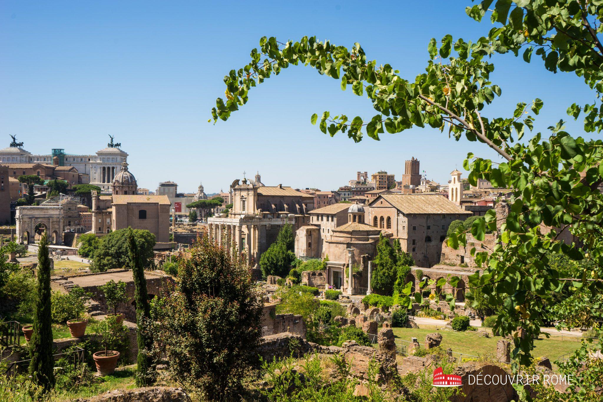 Collines Rome Palatin