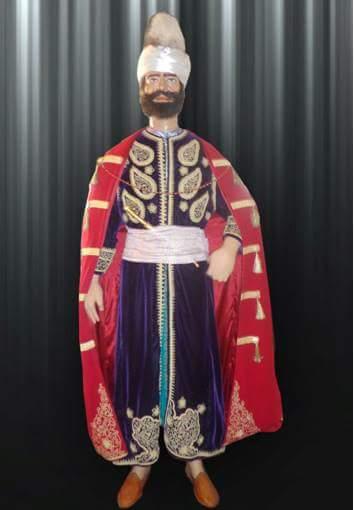 Ancien caftan masculin algérien.