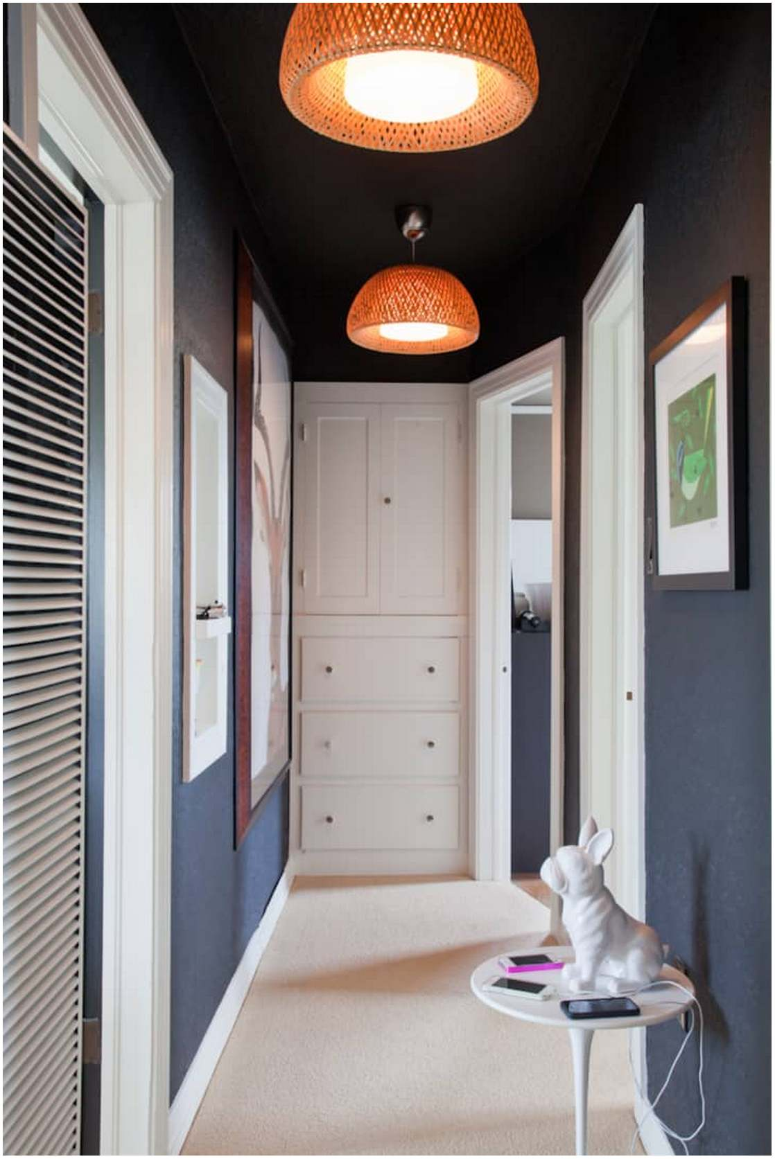 Sprucing Up Your Hallway - Go to the dark side