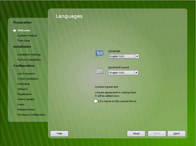 OpenSuSE 11 Alpha 1 Screen Shots