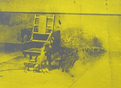 Andy Warhol's electric chair