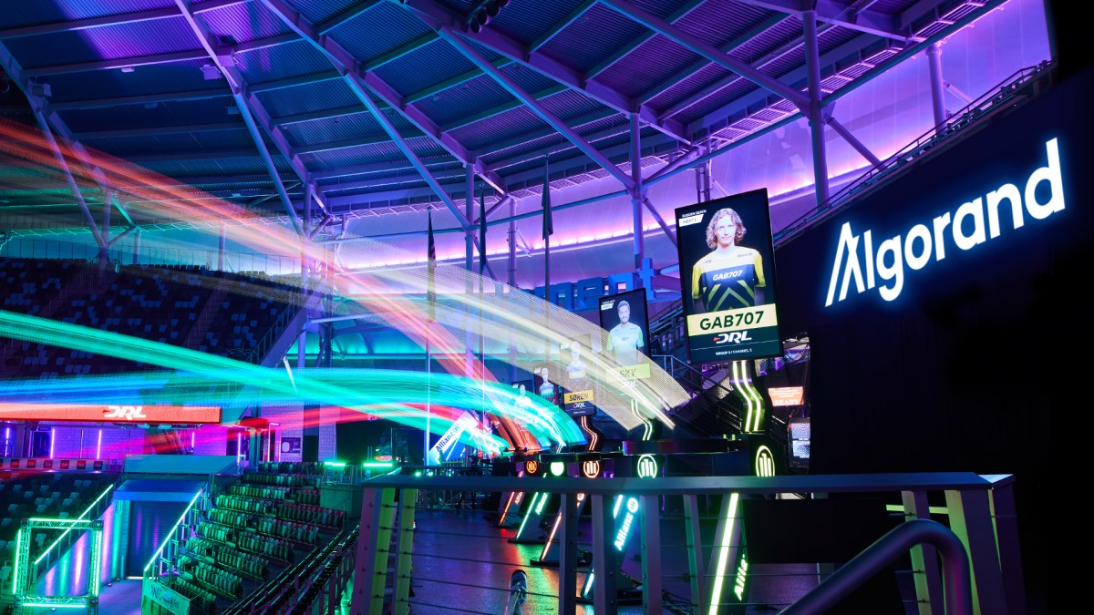 Algorand has struck a deal with Drone Racing League.