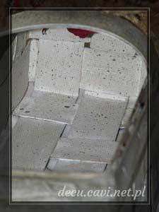 koszyk woskowany przecierki