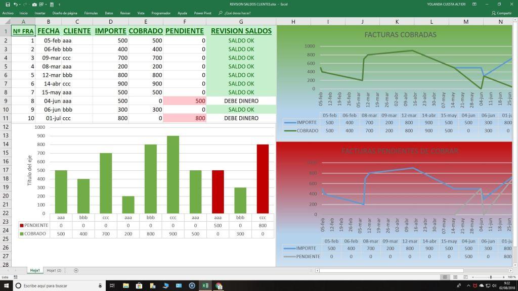 Curso de Excel gratis avanzado con ejercicios prácticos