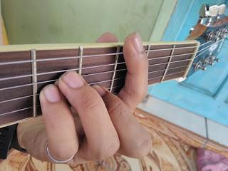 chord Cm gantung