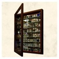 Vitrinas para sus dedales de colección