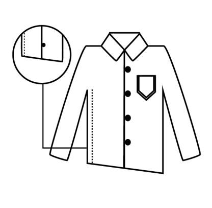 camisa lados