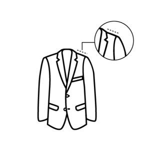casaco ombro