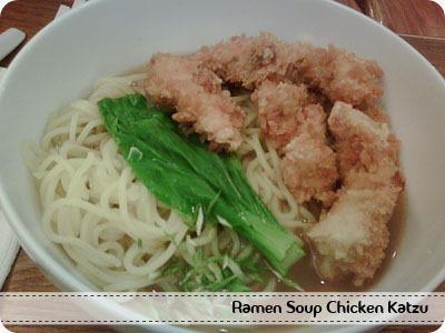 Ramen Soup Chicken Katzu