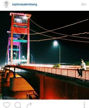 ampera3 - 10 Lokasi Hits Instagramable di Palembang