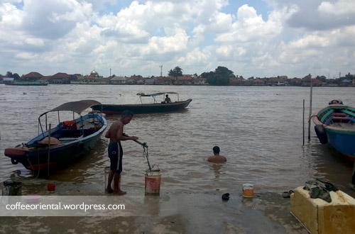 tanggo01 - Telisik Kampung Tangga Raja, Rumah Persembunyian Soekarno Tempo Dulu di 2 Ulu Palembang