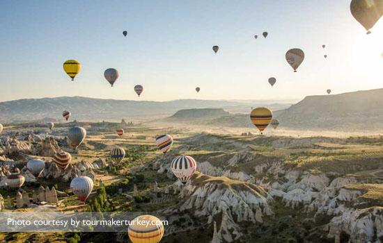 Dijamin teman-teman kamu bakalan ngiri kalau kamu naik balon udara!