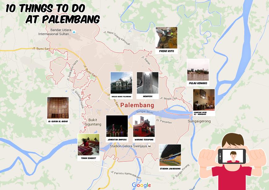 map palembang - 10 Alasan Keliling Palembang Bersama OPPO F1 Plus