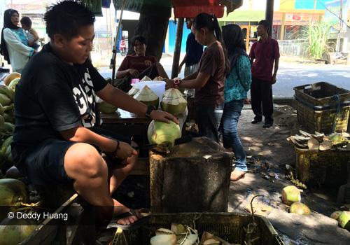 dogan3 - Cobain Dogan Hijau di Simpang Dogan Palembang