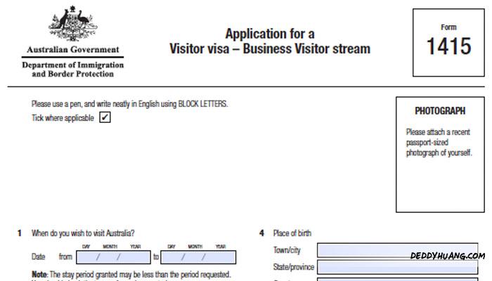 visa australia 03 - Cara Mudah Membuat Visa Australia Lewat Agen Travel