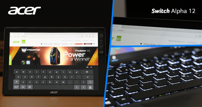 keyboard acer switch alpha 121 - Bagaimana Acer Switch Alpha 12 Menemani Aktifitas Blogger? #SwitchableMe