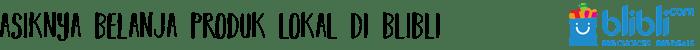 asiknya belanja online - Galeri Indonesia, Produk Kreatif Asli Indonesia dari Blibli.com