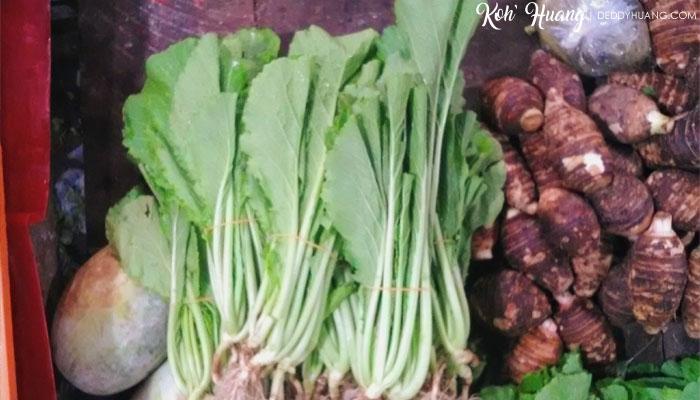 Sayur panjang umur atau Cang Cai
