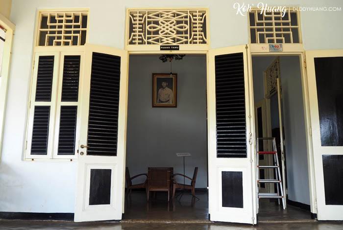 Pintu depan rumah pengasingan Bung Karno