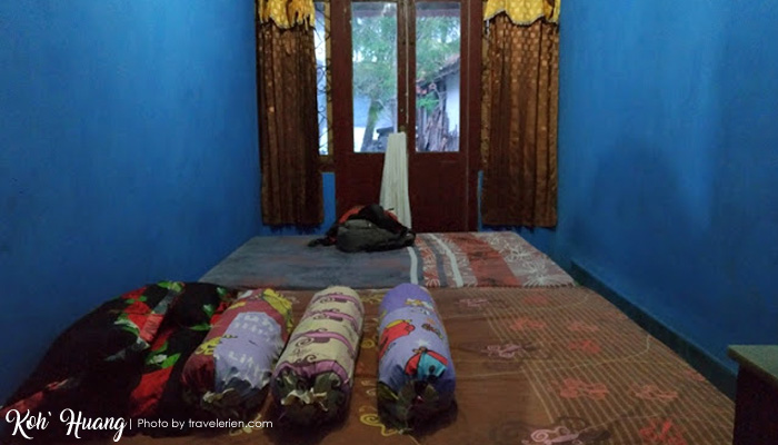 foto kamar homestay bang jo - Jelajah Pesona Pulau Pisang : Bertemu Teman Baru (Bagian 2)