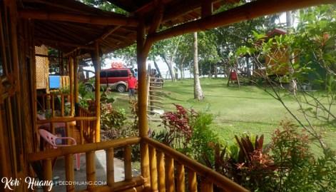halaman luar matur wulun - Akomodasi Strategis di Krui, Pesisir Barat Lampung