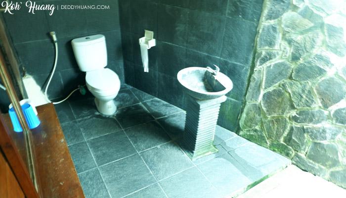 kamar mandi resort sumatra - Akomodasi Strategis di Krui, Pesisir Barat Lampung