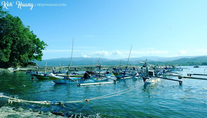 pelabuhan kuala stabas - Jelajah Pesona Pulau Pisang, Krui (Bagian 1)