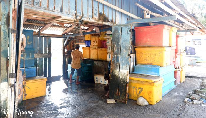 pelelangan ikan krui