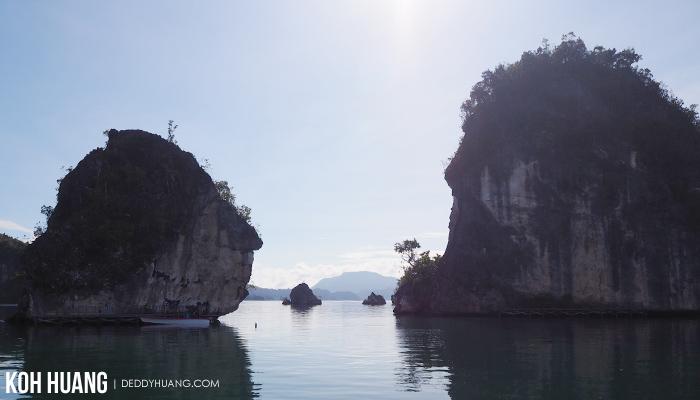batu wajah - Teluk Kabui, Sisi Lain Keindahan Raja Ampat