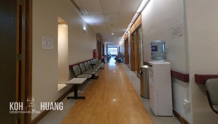ruang tunggu dokter - Panduan Berobat ke Melaka : Mahkota Medical Centre