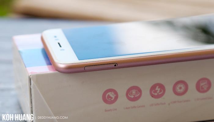 slot sim card - Review : ASUS ZenFone Live ZB501KL, Bagus Untuk Live Broadcasting