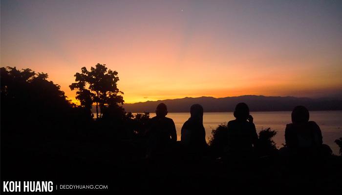 Menanti Sunrise di Benteng Torre - Tidore