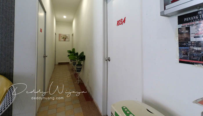 luar kamar doubletree - Panduan Berobat ke Penang : Penang Adventist Hospital