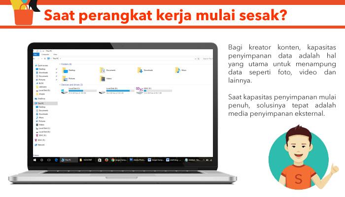 tips membersihkan data di laptop - Jangan Sampai Memori Traveling Kamu Hilang, Ikuti Tips Memilih Hard Disk Eksternal Berikut