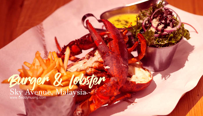 burger and lobster malaysia - Burger & Lobster Sky Avenue, Malaysia