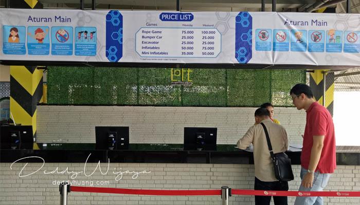 harga tiket bermain loft palembang - Baru! 2 Tempat Bermain Anak di Palembang