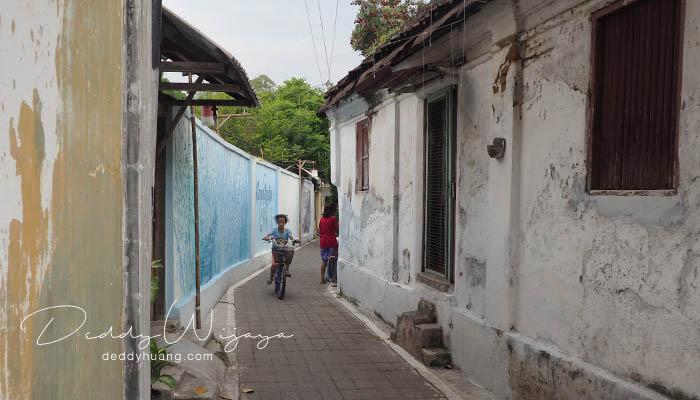 lorong laweyan - Antara Solo dan Yogjakarta Kita Jatuh Cinta #JadiBisa