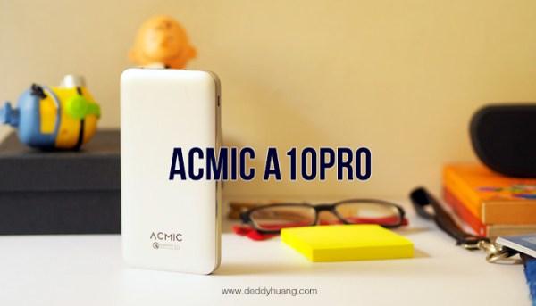 [REVIEW] ACMIC A10Pro 10000 mAh Quick Charge 3.0
