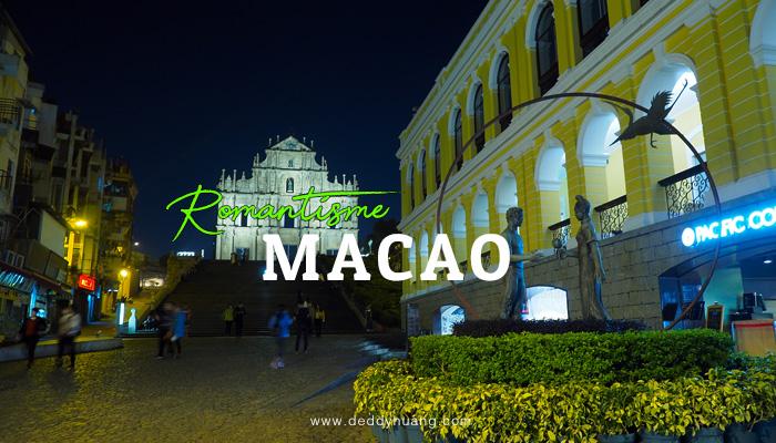 romantisme macao - Labirin Rasa Macao (Xpress Air Inflight Magazine March 2018)
