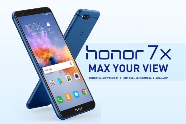 Honor 7X, Ponsel Gaming Terbaik Dikelasnya