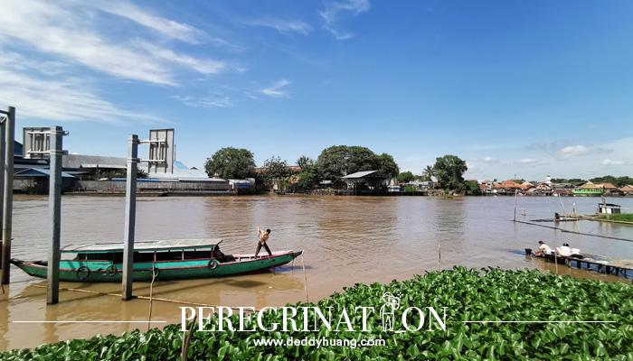 sungai musi palembang - Cantik Nian Kain Khas Palembang