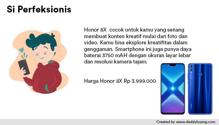 harga honor 8x