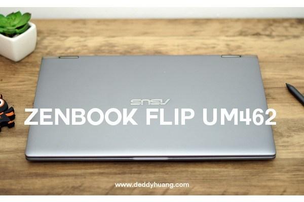 Pakai ZenBook Flip UM462 Layar Bisa Diputar 360 Derajat