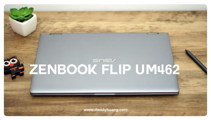review ZenBook Flip UM462