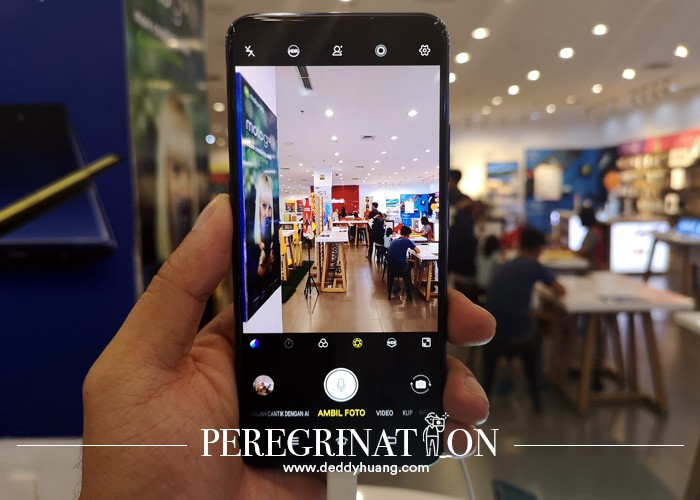 user interface kamera vivo S1