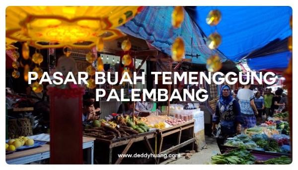 Sudut Pasar Buah Temenggung Palembang
