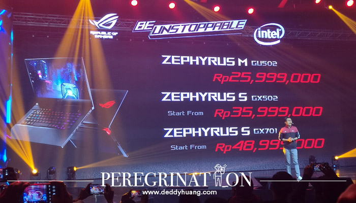 Harga Laptop ROG Zephyrus